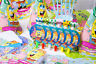 Sponge Bob Square pants Birthday Party Supplies Bag Tableware Balloon Decoration