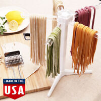 White Pasta Holder Stand Dryer Spaghetti Collapsible Noodle Drying Rack Tools