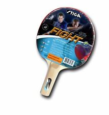 STIGA FIGHT TABLE TENNIS RACQUET-(RED)