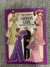Gibson Girl Paper Dolls in full color by Tom Tierney uncut, unused