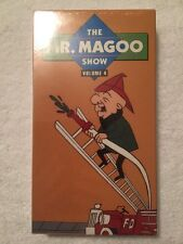 Mr. Magoo Show, The - V. 4 (NEW SEALED VHS) VERY RARE OOP HTF!