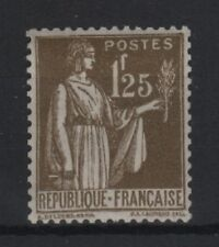 """FRANCE STAMP YVERT 287 SCOTT 279 """" PEACE WITH OLIVE BRANCH 1F25 """" MNH XF  R821"""