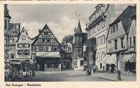 Bad Kissingen , Marktplatz , Ansichtskarte, 19?? gelaufen