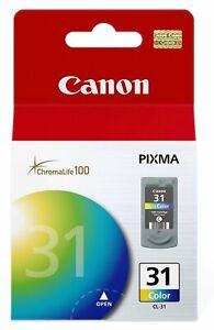 GENUINE Canon CL-31 Color Ink for PIXMA iP1800 MP140 MP190 MP210 MX300 MX310