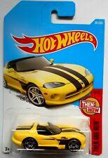 HOT WHEELS   DODGE VIPER RT/10- THEN AND NOW -  Mattel #HW1