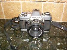 New ListingMinolta X-370 35mm Camera with Md 50mm 1:1.7 Japan Lens