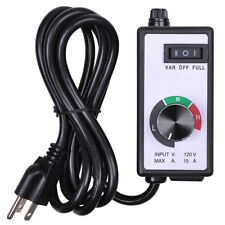 Variable Fan/Router Speed Controller Hydroponics Inline Fan Exhaust Air 1800W
