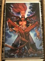 HELLIONS #3 JAY ANACLETO VIRGIN RED COSTUME VARIANT JEAN GREY DARK PHOENIX 2020
