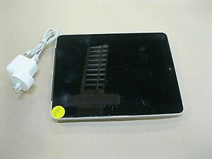 APPLE iPAD A1337 1st GEN 64GB O/S 5.1 LEAD AND ADAPTER ~ GOOD CONDITION
