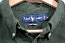 Ralph Lauren Classic Fit Green Men's Button Down Longsleeve Shirt Size XL