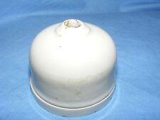 VINTAGE ancien porcelaine Rosace Plafond Lampe Titulaire Pendentif vitreux