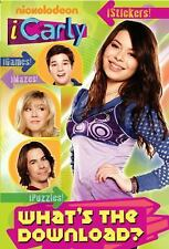 iCarly: What's the Download? (Activity Book with Stickers) Man-Kong, Mary Paper