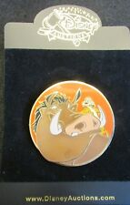 Disney Pin 26426 Disney Auctions Animal Pals Set Pumbaa & Timon Pin