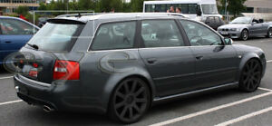 AUDI A6 C5 RS6 LOOK AVANT  WAGON  COMBI REAR ROOF SPOILER