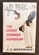 P G Wodehouse - The Great Sermon Handicap - hbdj 1st stand-alone edn 1933