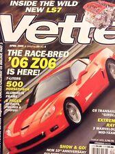 Vette Magazine '06 Z06 500 Horsepower April 2005 020718nonrh