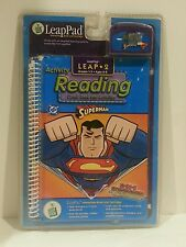 Leap Pad Frog 2 Reading Superman Interactive Book Cartridge Comic Book Sealed