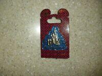 Disney Parks Pin Walt Disney World Blue Glitter Cinderella's Castle Cloud NEW