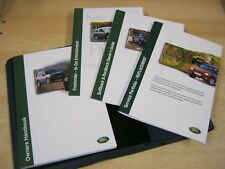 LAND ROVER FREELANDER OWNERS MANUAL HANDBOOK 1997-2003 CD & SERVICE BOOK