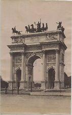 PHOTO PESENTI GENOVA ITALIA ITALIE / MILAN MILANO / 1894 ARC DE TRIOMPHE