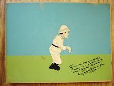 1940 Africa Squeaks Looney Tunes Spencer Tracey Anim Cel Signed Leon Schlesinger