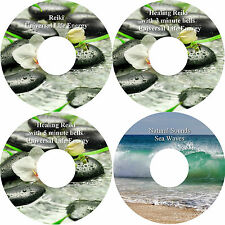 Healing Reiki Music with 3 & 5 Minute Bells & Sea Waves 4 CDs Relaxation Massage