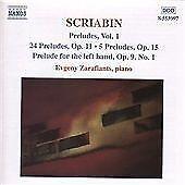 Scriabin: Preludes, Vol.1, , Audio CD, Good, FREE & FAST Delivery