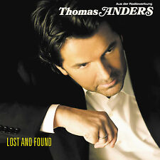 Thomas Anders LOST AND FOUND Japan 19-trk CD w/OBI & 8-pg booklet Modern Talking