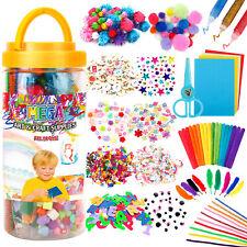Mega Kids /Toddlers Arts and Crafts Supplies Jar Over 700 Pieces Preschool set