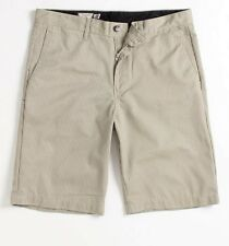 Volcom Stone Friggin Chino Stripe Mens Tan Shorts New NWT