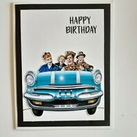 I LOVE LUCY HAPPY BIRTHDAY  GREETING CARD