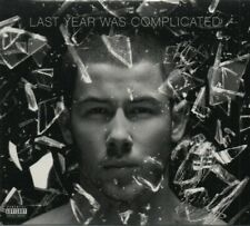 NICK JONAS LAST YEAR WAS COMPLICATED CD NEW SEALED CLOSE CHAMPAGNE PROBLEMS TOVE