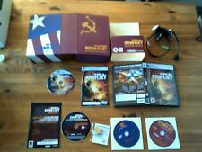 WORLD IN CONFLICT : COLLECTOR'S EDITION - PC GAME - ORIGINAL & COMPLETE - VGC