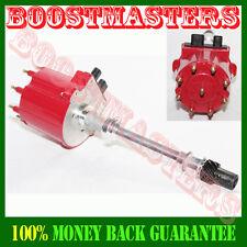 For Chevy GM 350 5.7L EFI TBI TPI Vortec 5.0L Ignition Distributor RED Cap+Roto