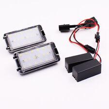 18-SMD LED License Plate Light For Seat Leon Altea Arosa Cordoba Ibiza Toledo