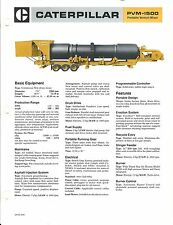 Equipment Brochure - Caterpillar - PVM-1500 - Portable Venturi Mixer (E3251)