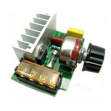 4000W Thyristor Electronic Regulator Dimming Speed Regulation Thermostat