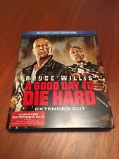 A Good Day to Die Hard (Blu-ray/DVD, 2013, 2-Disc Set, Extended Cut Includes...