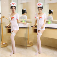 Sexy Nurse Erotic Costumes Maid Lingerie Role Play Women Erotic Lingerie Unif FJ