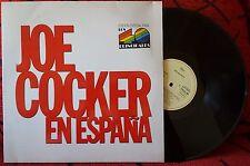 """JOE COCKER ***EN España*** VERY SCARCE 1988 Spain 12"""" EP PROMO SINGLE"""