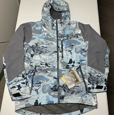 Under Armour Men's GORE-TEX Shoreman Jacket Hydro Camo Size Medium 1304634 NWT