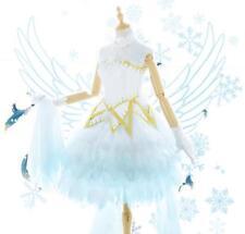 CARDCAPTOR SAKURA KINOMOTO Ice angel Sakura lo dress lolita cosplay costume