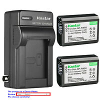 Kastar Battery AC Wall Charger for Sony NP-FW50 BC-VW1 & Cyber-shot DSC-RX10M4