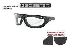 Bobster Sunglasses RUKUS Padded Day 2 Nite Harley Davidson Riding Sun Glasses
