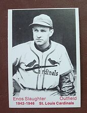 1975 TCMA Cardinals 1942-6 ENOS SLAUGHTER /// MINT
