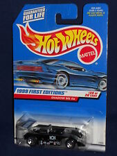 Hot Wheels 1999 First Editions 20/26 #925 Shadow MK IIa Black w/ 5SPs