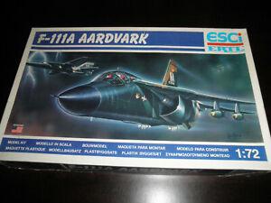 1/72 F-111A AARDVARK USAF Fighter by ESCI/ERTL