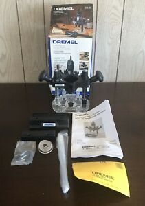 Pre-Owned Dremel 335-01 Plunge Router Attachment ONLY - Woodworking Tool, Hobby!