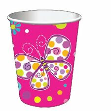 BUTTERFLY SPARKLE Birthday Party Range - Girl Tableware Balloons & Decorations