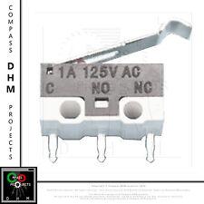 Finecorsa meccanici Reprap 3D - micro switch 3 pin 1A 125V - mechanical endstop